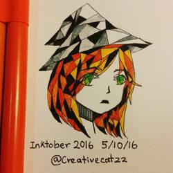 Inktober2016 day5 by creativecatzz