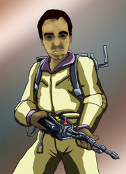 Metallic Ghostbuster Matt by devilmanozzy