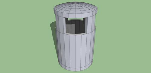 3D Trash Can by ChromeFusion44