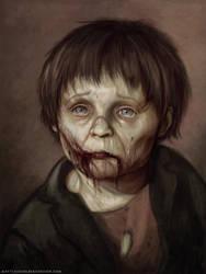 Zombie Kid by MattiasFahlberg