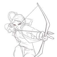 Katniss Everdeen by ItoMaki