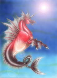 Seahorse by AlessandrArt