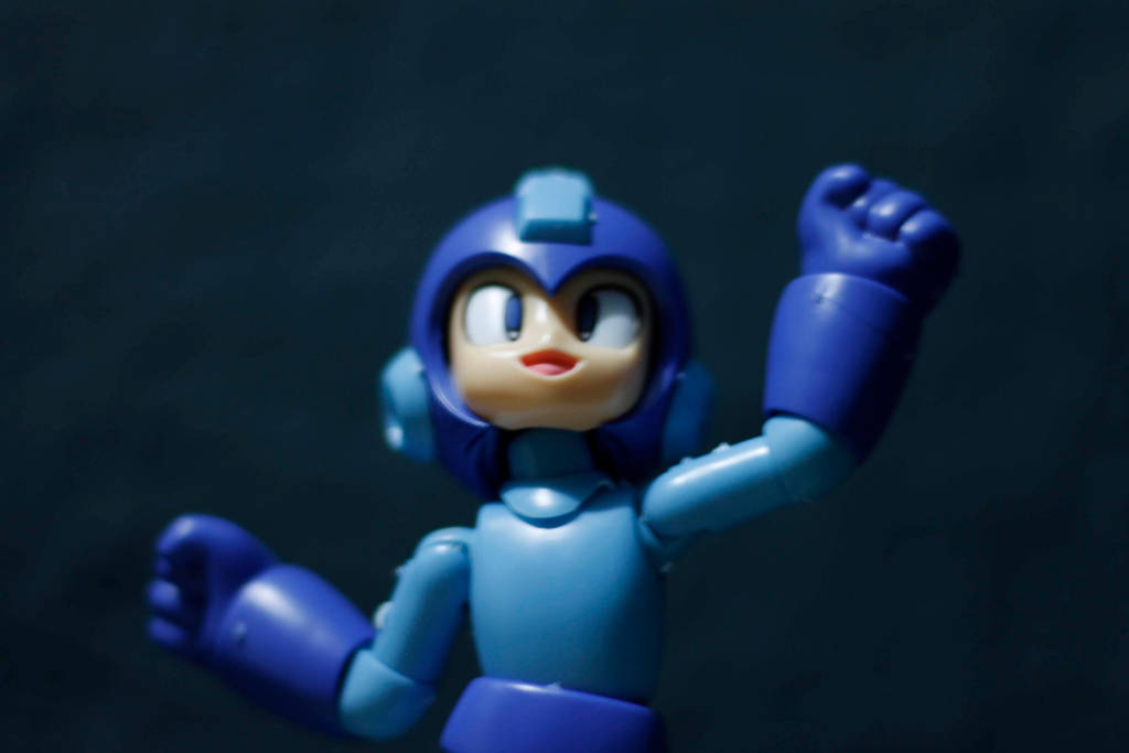 Final result Megaman Action figure  by arturodelmar