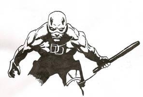 DareDevil - Sketch by predator-fan