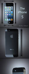 iPhone 5 3D model for sale by toto777