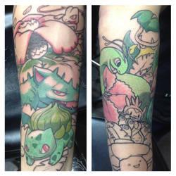 Pokemans sleeve by NeilTavaresArt