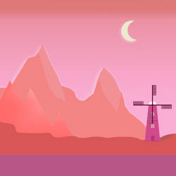 Flatlandscape-desert by orz23333