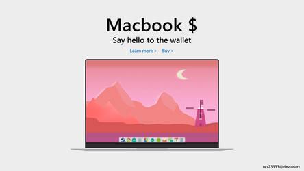 Macbook X($) by orz23333