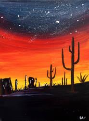 Desert Night by orz23333
