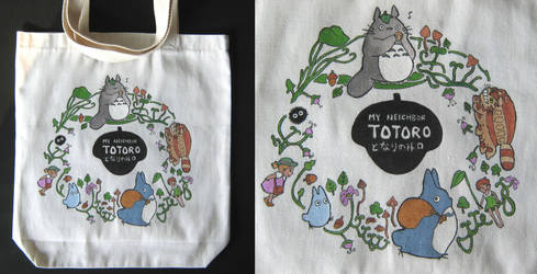 Studio Ghibli - TOTORO Tote Bag by philweschen