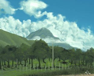 Landscape practice 01 by FedericoAg