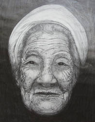 Old woman by Antone77