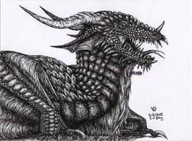 Awaken the wyvern by xHideFromTheSunx