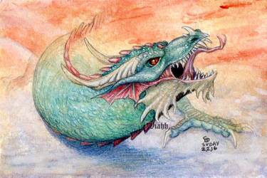 Untitled dragon by xHideFromTheSunx