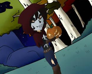 XS: Happy Halloween by MidnightTheInsomniac