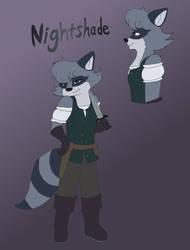 Amulet: Nightshade Redesign by MidnightTheInsomniac