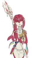 Lady Mipha by lulles
