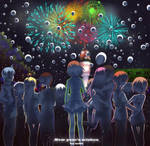 New year's wishes by Nefis