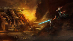 Star Wars -   Anakin Skywalker VS Asajj Ventress by Aste17
