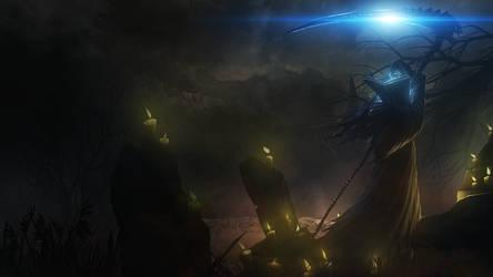 Karthus Reaper by Aste17