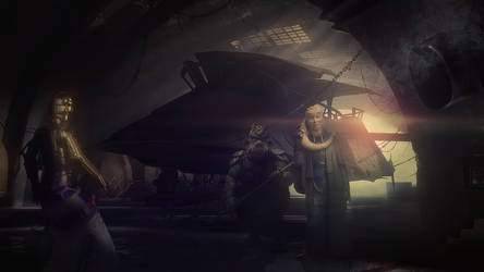 Inside The Castle Of Jabba The Hutt by Aste17