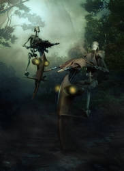 Battle Droid by Aste17