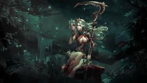 Sorceress by Aste17