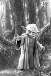 Master Yoda by Aste17