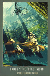 Scout Trooper Endor by Aste17