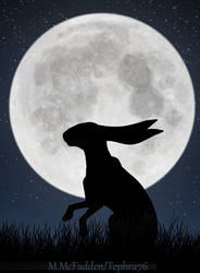 Full Moon Silhouette Part 3 by Tephra76