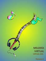 melodia virtual -virtual idol- by portadorX