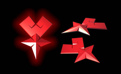 my red Mark of Mastery 3D by portadorX