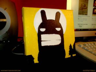 Bunny.From.The.Dark.Village. by kontrastt