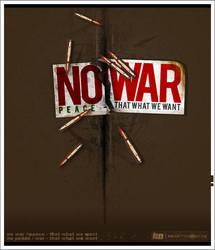 NO.War or Peace. by kontrastt