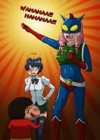Katawa Shoujo Action Bastard by SaBeR2T