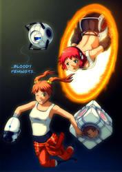 Katawa Portal 2 by SaBeR2T