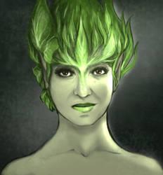 Self Portrait - Dryad by Kapocalypso