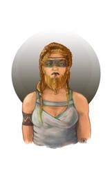 a proud lady dwarf by Kapocalypso