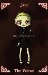 Twilight - The Volturi - Jane by mystikmalice