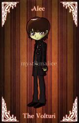 Twilight - The Volturi - Alec by mystikmalice
