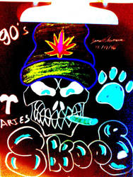 Trippy SkooB Bone -SkooB 12/18/16 by SkoobyForever