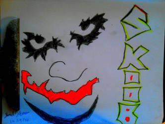 The Joker -SkooB 12/19/16 by SkoobyForever
