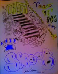 Heaven Gates Dawg! -SkooB 3/31/17 by SkoobyForever