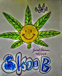 SkooBy Lucky Charm Leaf! -SkooB 4/13/18 by SkoobyForever
