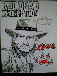 Red Dead Remdemption - Jamal Thomas 12/2/18 by SkoobyForever