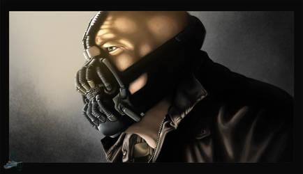 The Dark Knight Rises - Bane by The-Bluetip