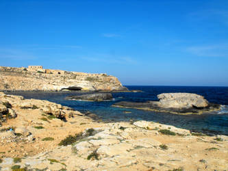 Mare Morto - Lampedusa by floramelitensis