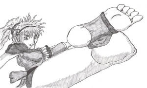 'Tiana High Kick by PsylisiaDragoon
