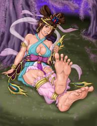 Look At Mai Toes by PsylisiaDragoon