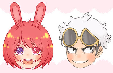 Floating Heads Batch #1 by Momoroo